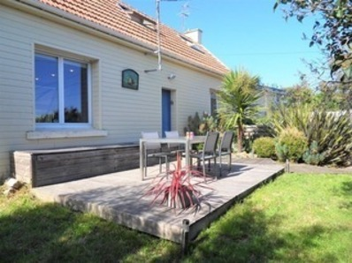 Location Maison chaleureuse 4/5 personnes  avec WIFI à 600 mètres de la plage du grand Pérello (Kerroc\'h)