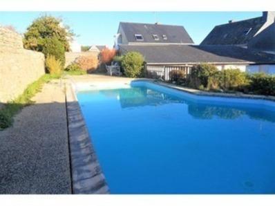 Location Appartement 3 pièces 6 personnes avec piscine à 50 mètres de la mer ! (Le Courégant)
