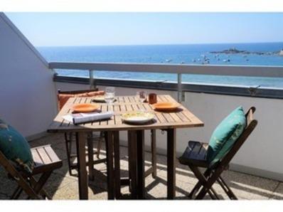 Location Appartement 2 pièces 4/5 personnes - vue imprenable sur la mer (Fort-Bloqué)