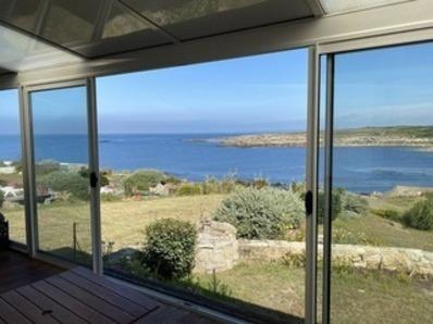 Location Le Courégant - Maison 6 pièces  8/10 personnes - vue panoramique sur la mer et la côte du Courégant