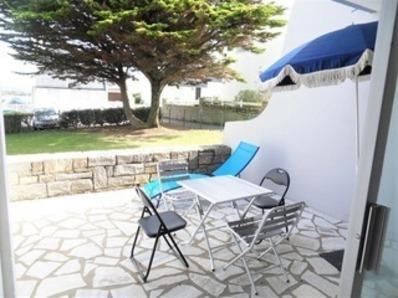 Location Appartement 2 pièces 4 personnes avec WIFI à 50 m de la plage du Courégant