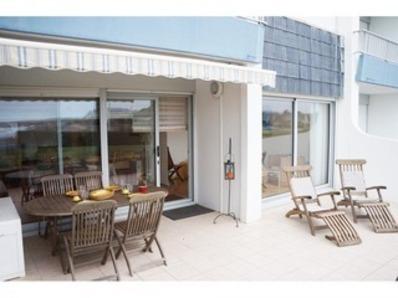 Location Appartement 3 pièces 4/6 personnes 50 m de la plage  Wi-fi - Le Courégant