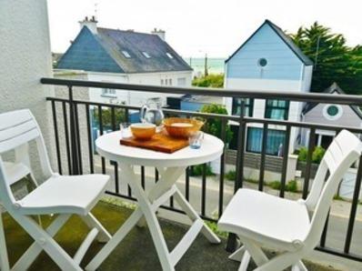 Location Appartement 3 pièces  5/6 personnes, vue mer, à seulement 150 m de la plage ! (Fort-Bloqué)