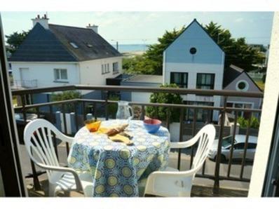 Location Appartement 3 pièces 4/6 personnes, vue mer, à 150 m de la plage ! (Fort-Bloqué)
