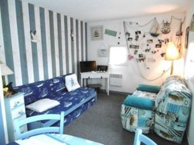 Location Studio 2/3 personnes dans résidence avec piscine.